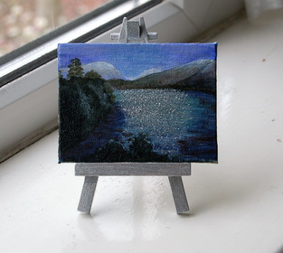 """NOW £10  MINI """"Wast Water, Lake District"""""""