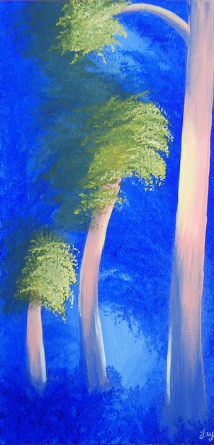 "GREETINGS CARD ""Enchanted Woodland 1"""