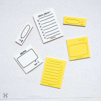 Pack de Sellos Día Amarillo