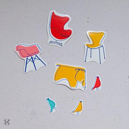 Pegatinas Diseñadores