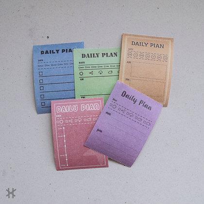 Pegatinas Daily Plan
