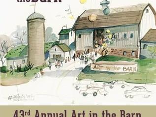 Art in the Barn September 24th @ Noon!