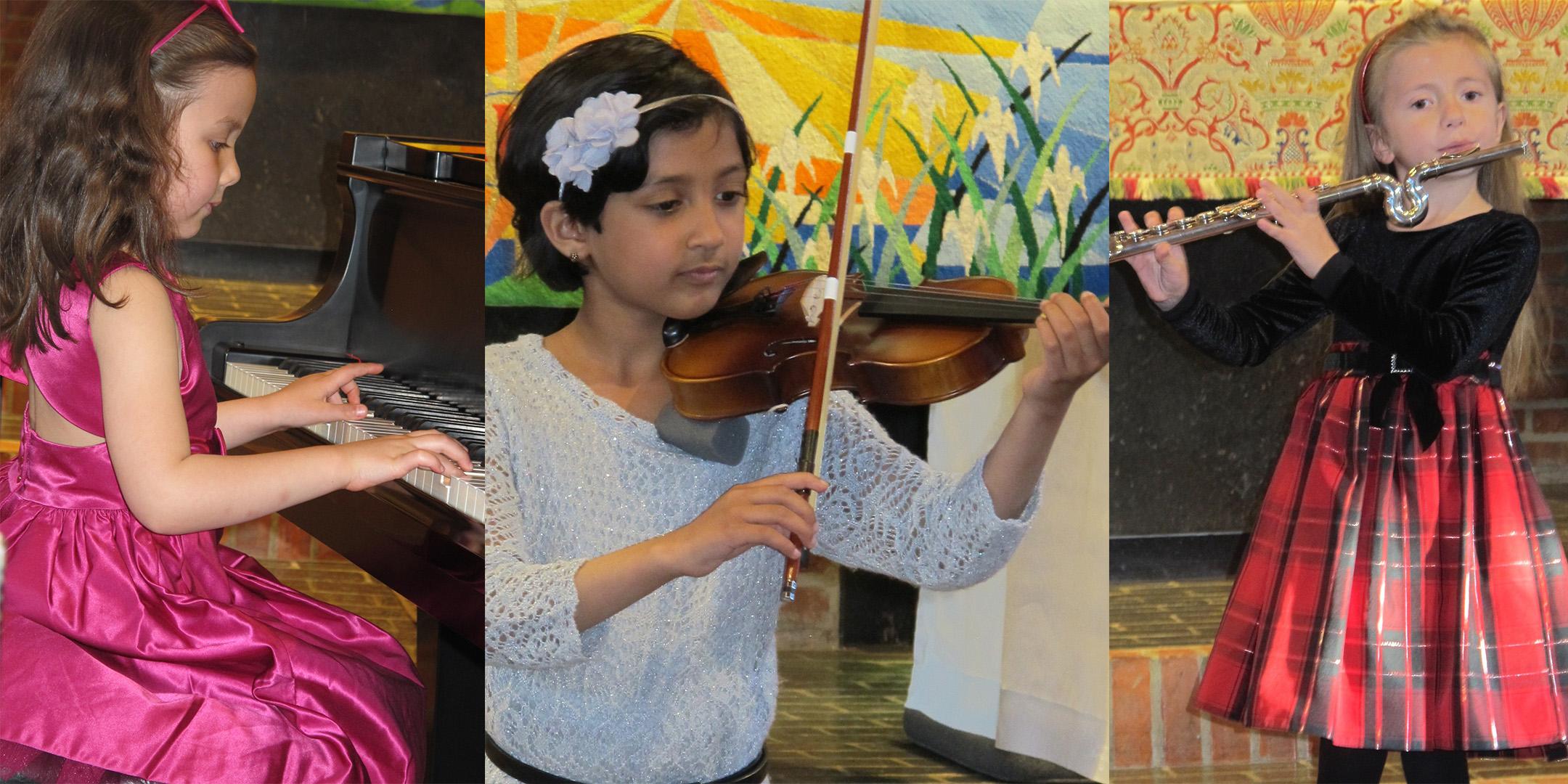 Violin Piano Flute