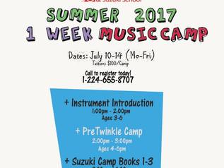 BMA Summer Camp 2017! July 10-14