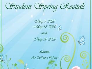 Online Student Recitals