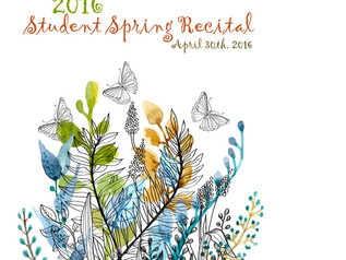 Barrington Music Academy  invites you to our semi-annual Spring Student Recital this Saturday, April