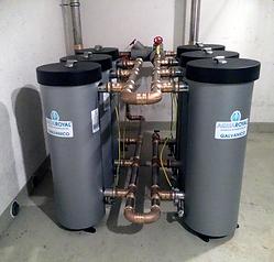 Verkemung, Warmwasserhydraulik