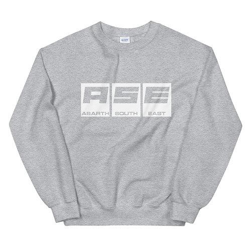 Unisex Sweatshirt - White Block Logo