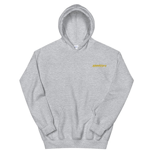 Embroidered Hoodie - Yellow Modern Logo