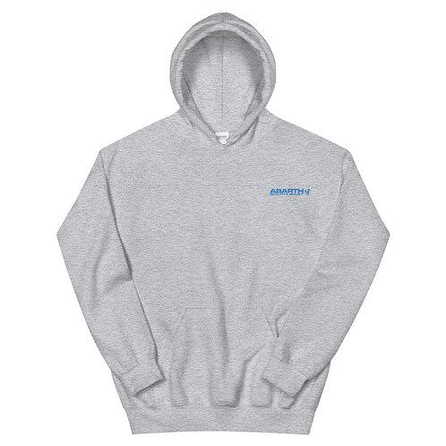 Embroidered Hoodie - Sky Blue Modern Logo