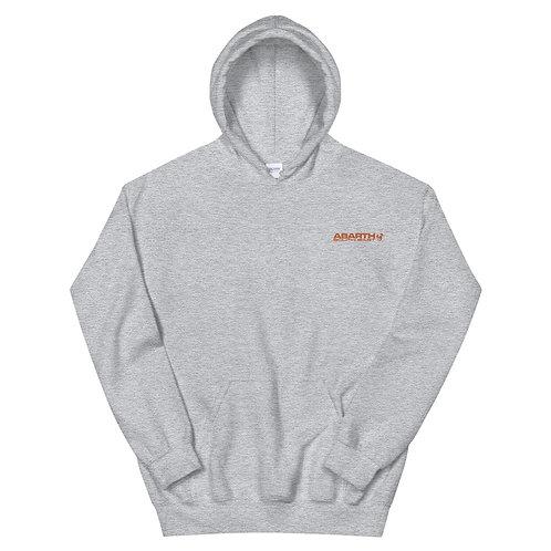 Embroidered Hoodie - Orange Modern Logo