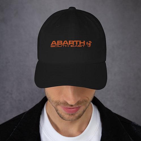 "Orange Embroidered Baseball Cap - ""The Southcott"""