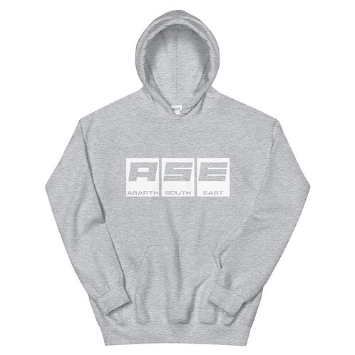 Unisex Hoodie - White Block Logo