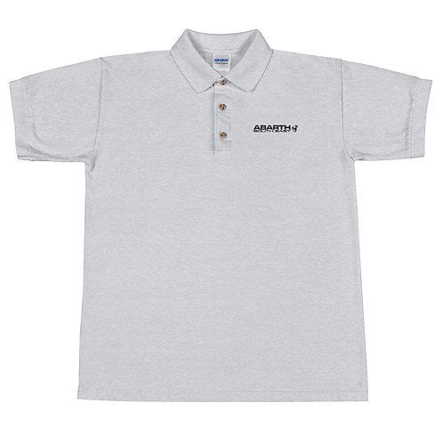 Embroidered Polo Shirt - Black Modern Logo