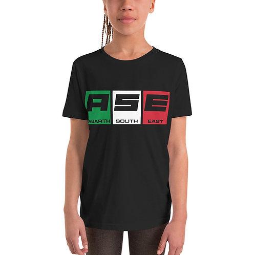 Kids Short Sleeve T-Shirt - Italian Block Logo