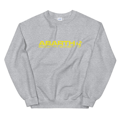 Unisex Sweatshirt - Yellow Modern Logo