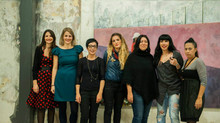 "Pictures of the ""Women Drawing Women"" Opening at The Loft"