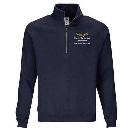 Premium 1/2 zip sweater.