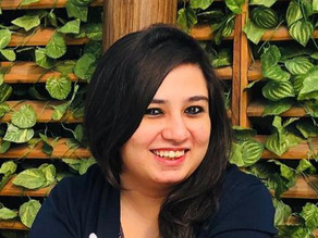 """""""I drew inspiration from my own experiences and did not limit my imagination"""" - Sanjana Saksena"""
