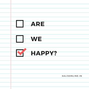 Poem - Are We Happy?