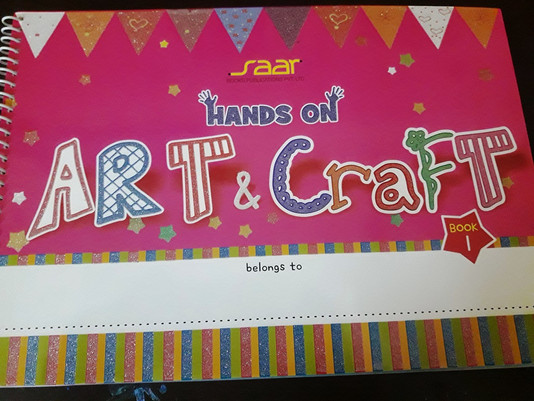 Hands On Art & Craft - 1 Book Review