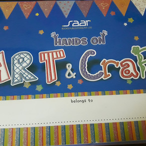 Hands On Art & Craft 3 Book Review