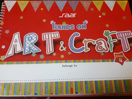 Hands On Art & Craft 4 Book Review