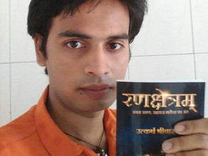 """""""My writing has changed me as a person"""" - Utkarsh Srivastava"""