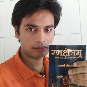 """My writing has changed me as a person"" - Utkarsh Srivastava"