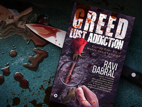 BOOK GIVEAWAY: GREED LUST ADDICTION BY RAVI DABRAL
