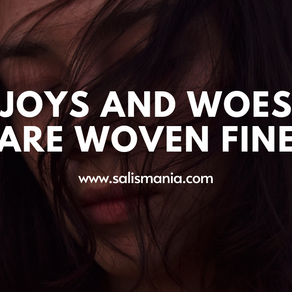 Joys And Woes Are Woven Fine Book Review