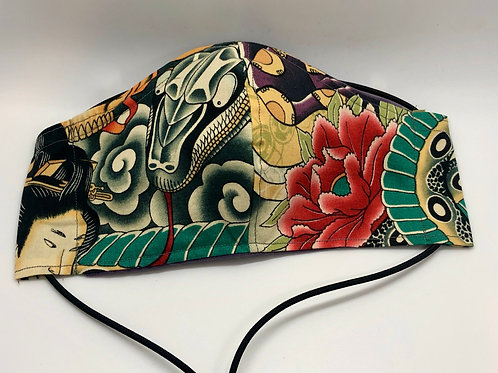 Alexander Henry Handmade cloth mask
