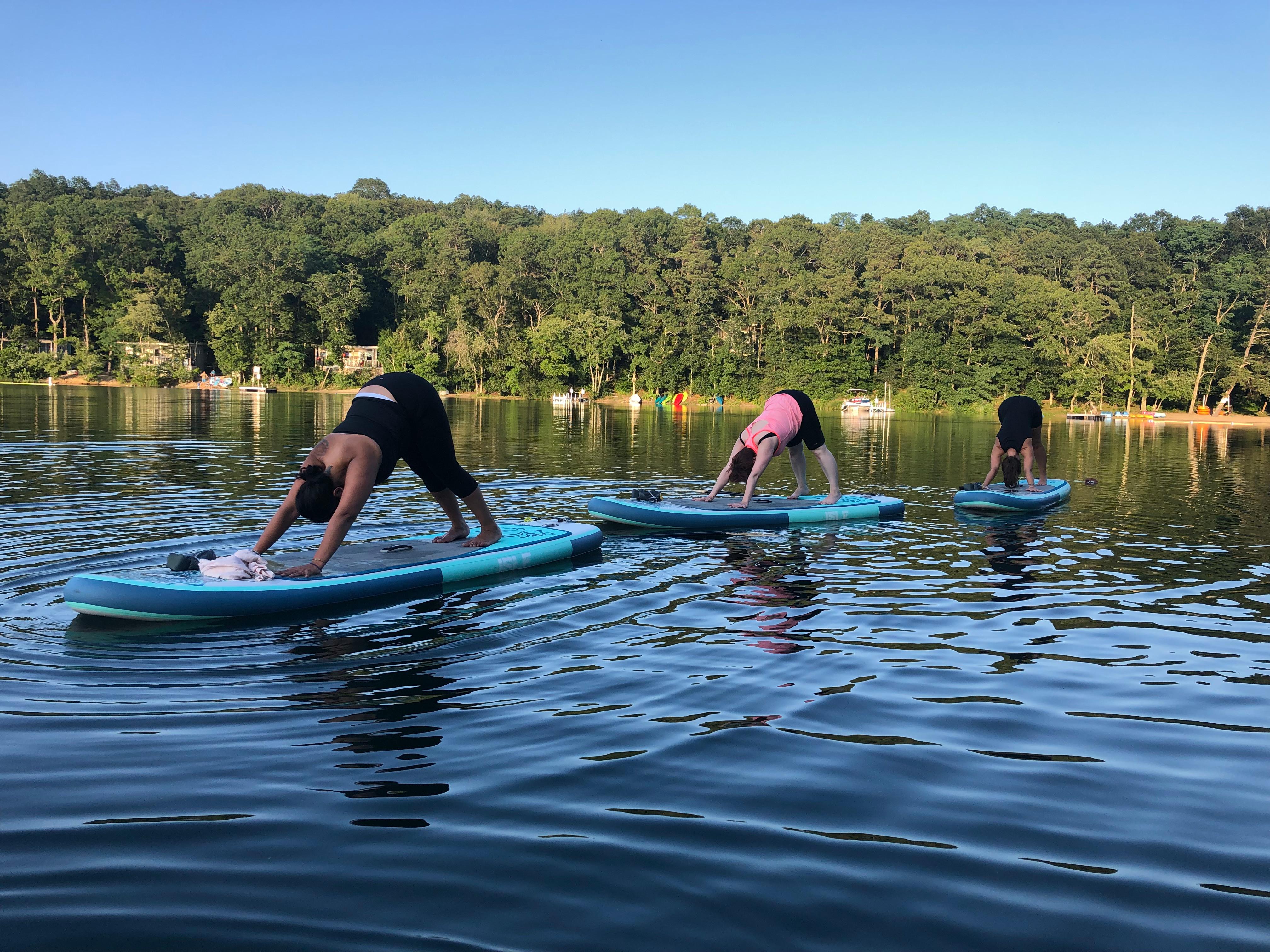Sunday Morning Floating Flow Yoga 8am
