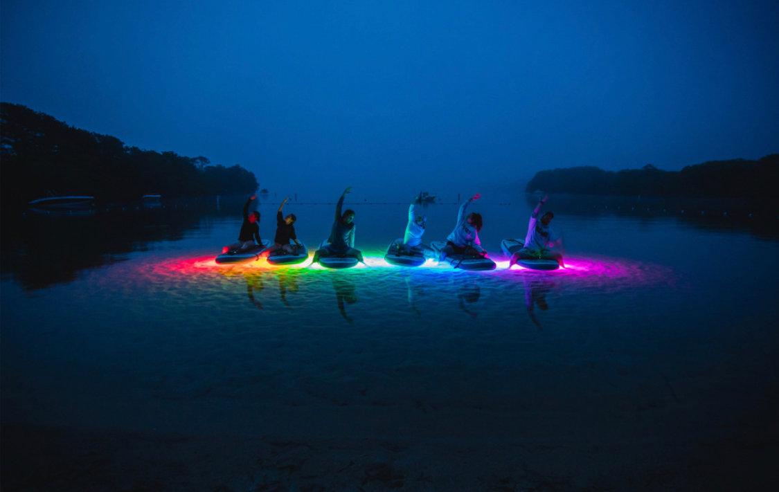 Glowga SUP Yoga