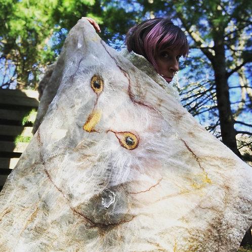 Owl Shawl