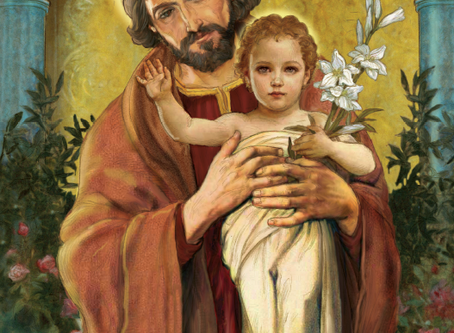 The Feast of Saint Joseph, March 19