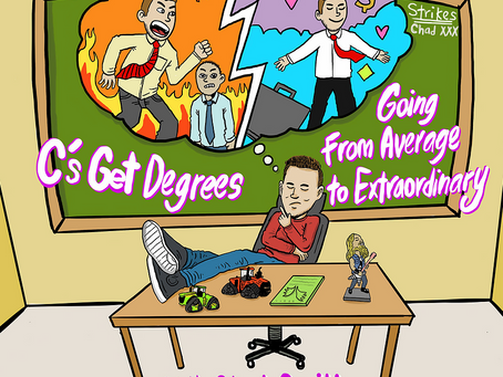 """C's Get Degrees """"Going from Average to Extraordinary!"""" Podcast featuring Erik Allen"""
