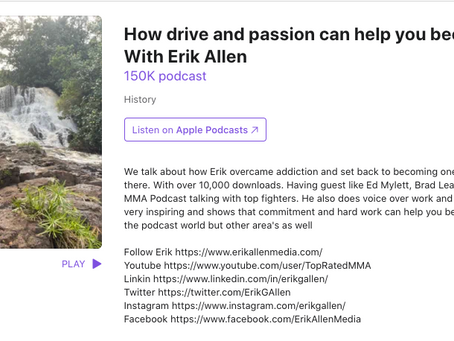 How drive and passion can help you become a success With Erik Allen