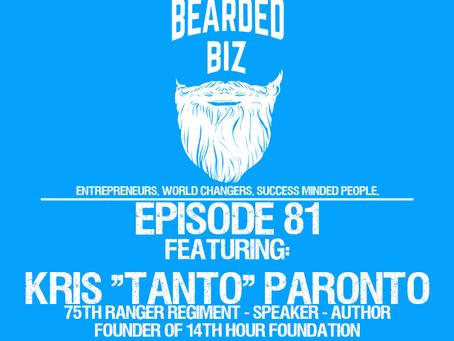 """Ep. 81 - Kris """"Tonto"""" Paronto - 75th Ranger - Speaker - Author - Responded to  Benghazi 2012 Attack"""