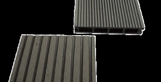 Террасная доска из древесно-полимерного композита, серый
