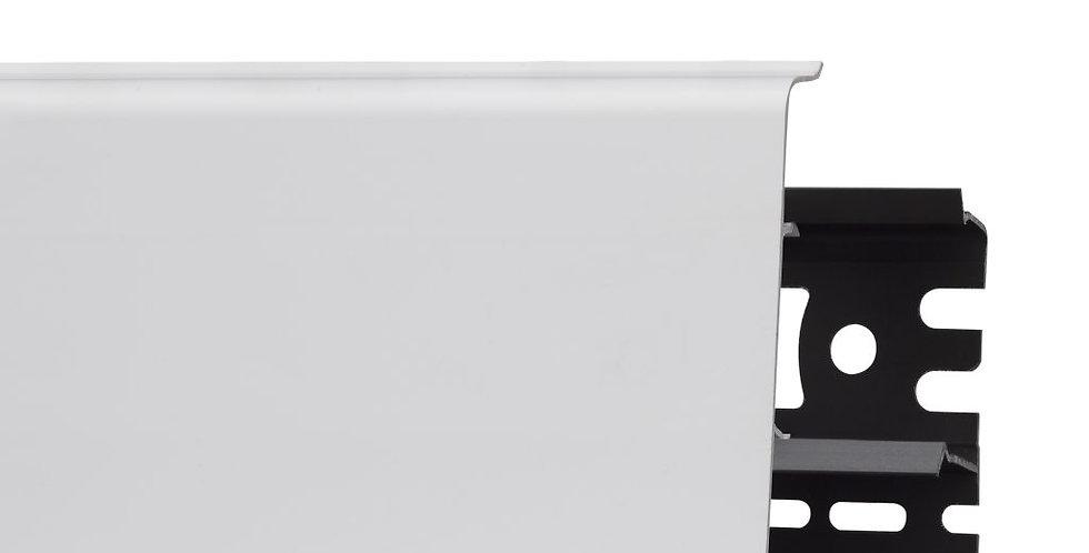 Плинтус пластиковый ARBITON INDO 40 Белый матовый