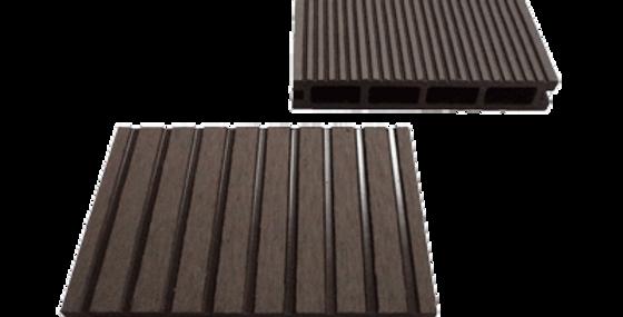 Террасная доска из древесно-полимерного композита, венге
