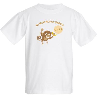 "Kids ""No More Monkey Business"" T-Shirt"