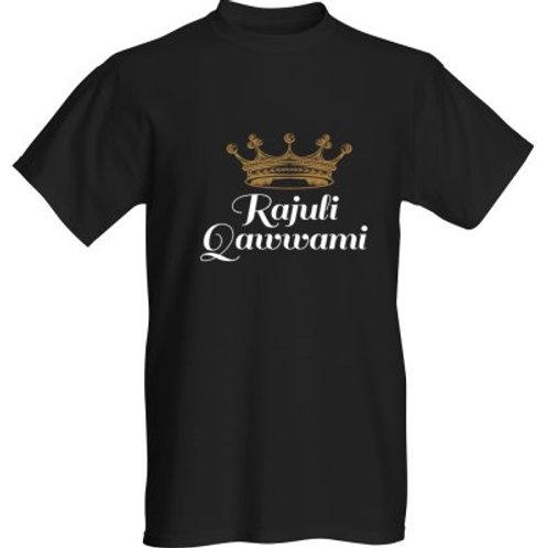 Rajuli Qawwami Black T-Shirt