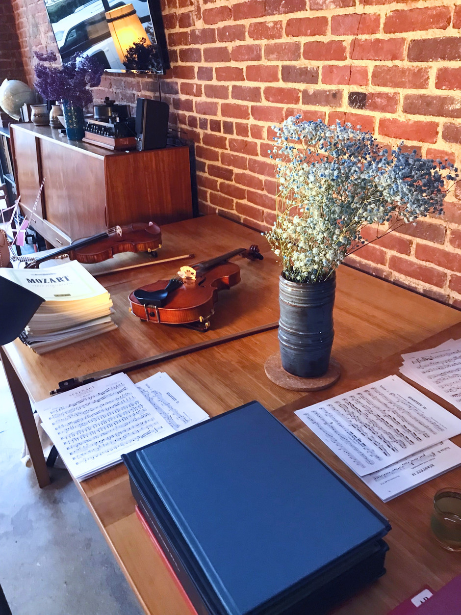 Iona's First Chamber Music Party