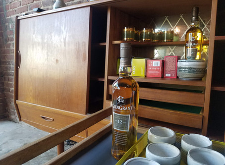 A moment of appreciation for the Scotch and Tea station