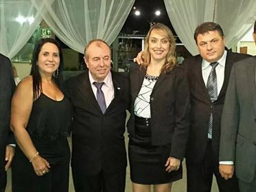 Dr. Áser Barros de Paula participa da posse da OAB de Abre Campo