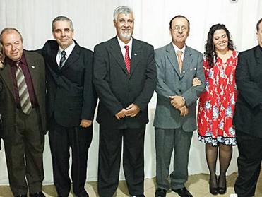 Dr. Áser Barros de Paula participa da posse da OAB de Rio Casca