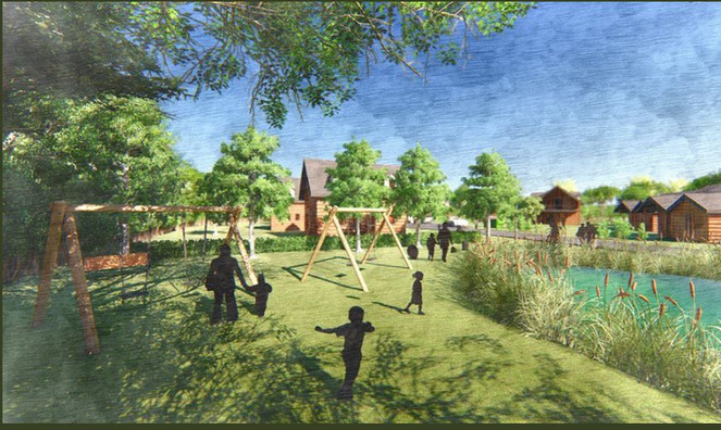 Northop Country Park - Concept for new lodge park