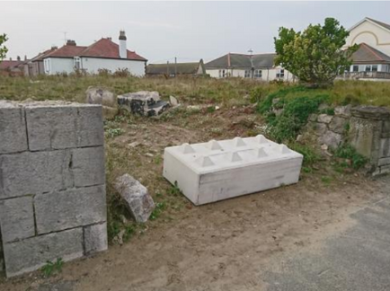 The site following demolition 1